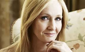 "J.K. Rowling. Paid very handsomely for her ""lies."" No wonder she's smiling."