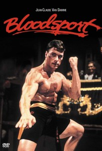Poster from the movie Bloodsport.