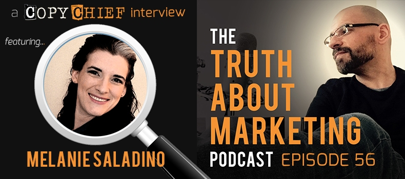 Ep 56: Melanie Saladino – How To Write For The 9 Buyer Types