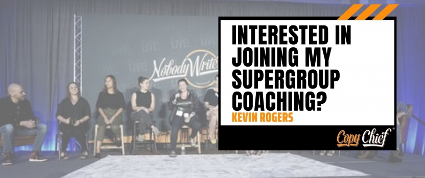 Interested in joining my Supergroup coaching?