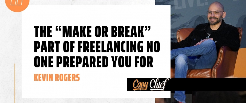 "The ""make or break"" part of freelancing no one prepared you for"