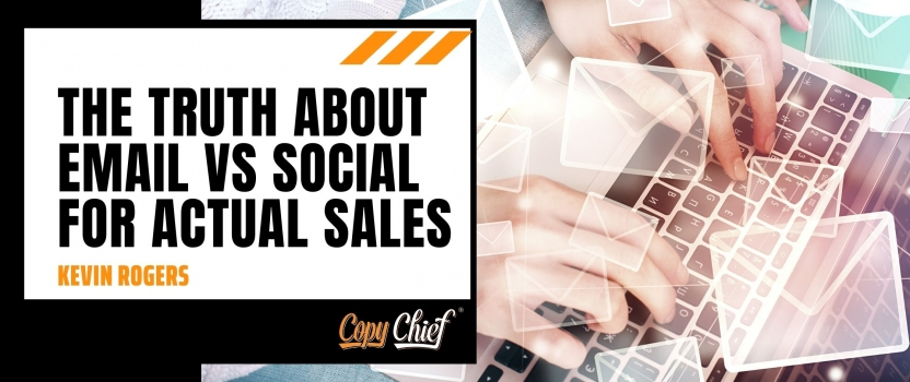 The truth about email vs social for actual sales
