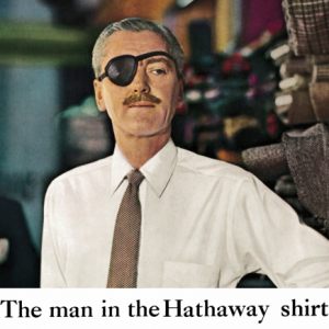 man in the hathway shirt